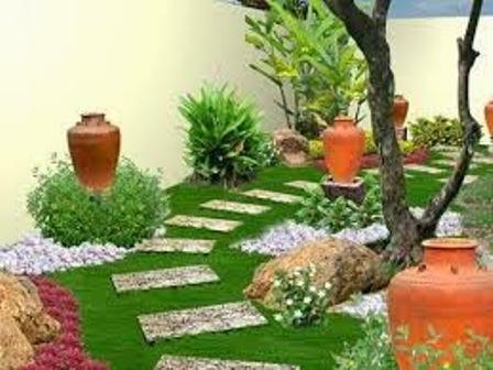 cỏ nhân tạo trang trí-1