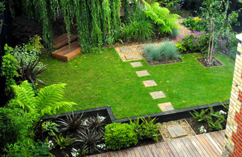 lựa chọn cỏ nhân tạo cho sân vườn