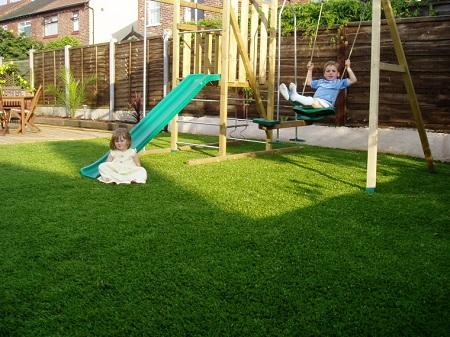 trồng cỏ nhân tạo tại nhà 1