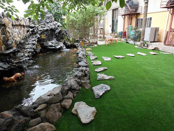 cỏ nhân tạo sân vườn 4