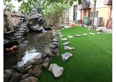 Lợi ích phủ xanh vườn với cỏ nhân tạo sân vườn