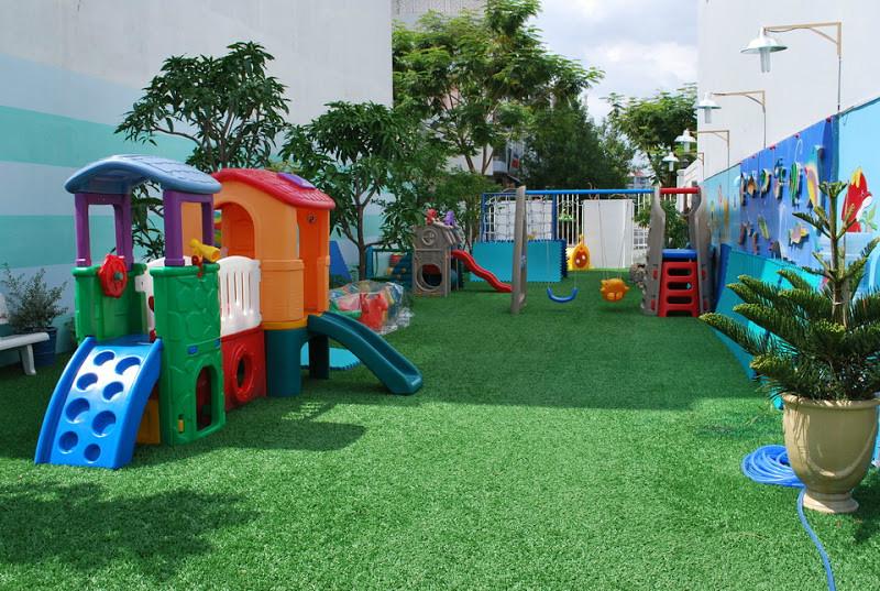 Cỏ nhân tạo sân chơi trẻ em