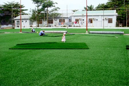 Địa chỉ thi công sân bóng cỏ nhân tạo chất lượng, chuyên nghiệp