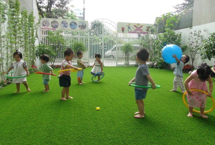 Cỏ nhân tạo sân vườn là giải pháp cho không gian xanh – sạch – đẹp