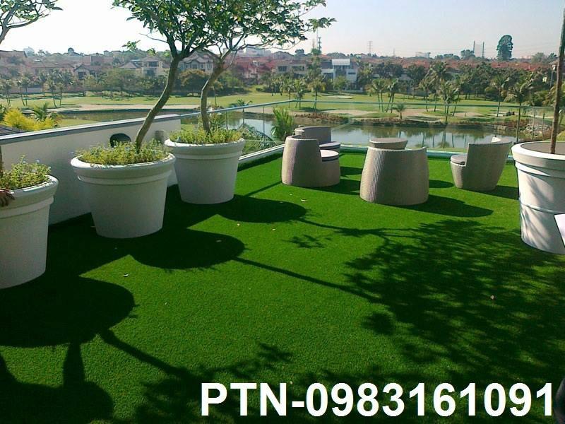 Ứng dụng cỏ nhân tạo trong thiết kế nội - ngoại thất