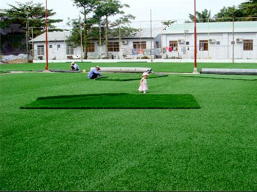 Lắp đặt sân bóng cỏ nhân tạo 7 người và bảng giá thi công