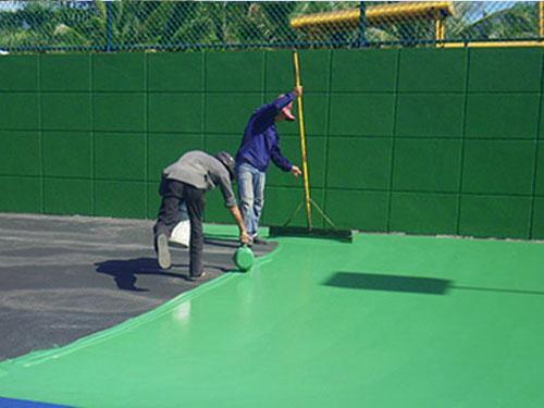 Thi công sân tennis đất cứng đạt chuẩn ITF