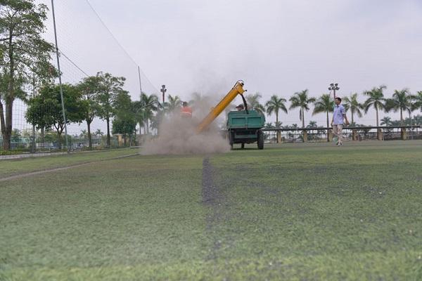 Bảo dưỡng cỏ nhân tạo tại Vũng Tàu