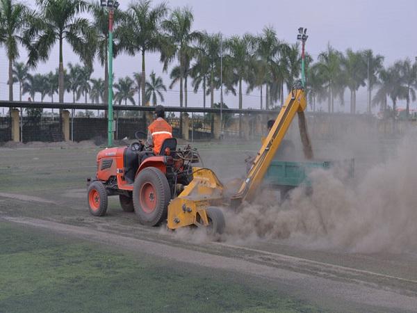 Bảo dưỡng cỏ nhân tạo tại Hải Phòng