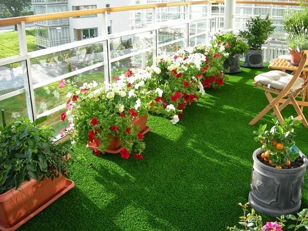 Cung cấp cỏ nhân tạo sân vườn tại Bắc Ninh