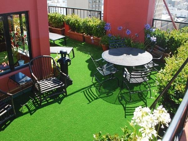 Cung cấp cỏ nhân tạo sân vườn tại Đà Nẵng