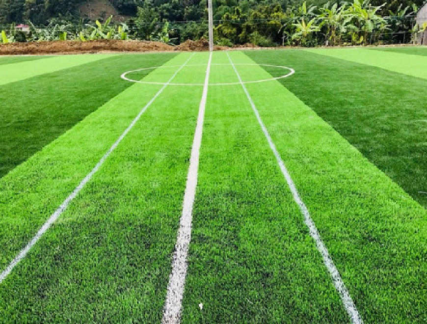 Đầu tư sân cỏ nhân tạo, đất làm sân và cách bảo dưỡng cỏ nhân tạo