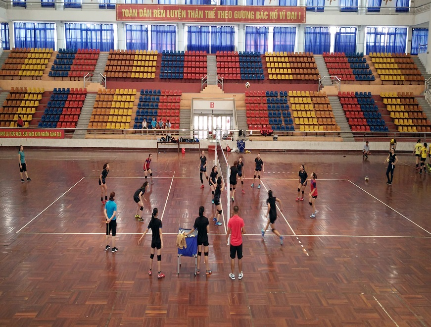 Bản vẽ sân bóng chuyền và hướng dẫn kẻ sân bóng chuyền