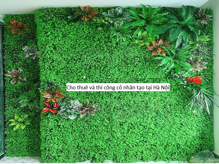 Cung cấp cho thuê cỏ nhân tạo tại Hà Nội