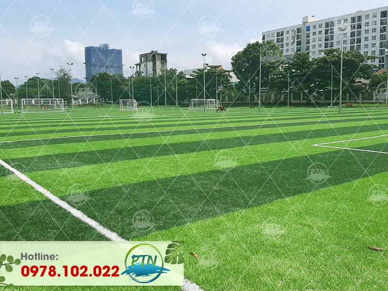 Thi công Sân bóng cỏ nhân tạo Học Viện Cảnh Sát Nhân Dân-Cổ Nhuế-Hà Nội
