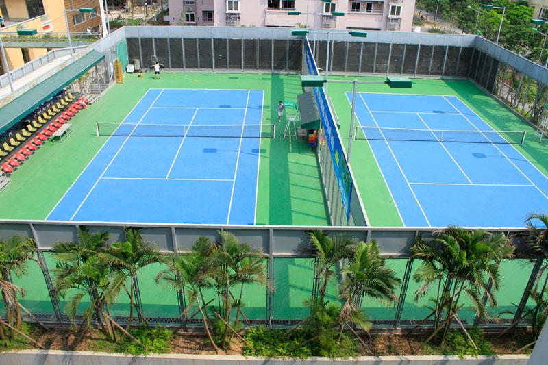 Dự án thi công sân tennis