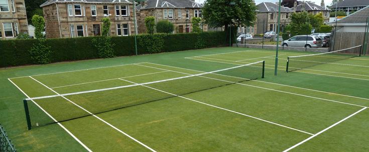 lợi ích của việc sử dụng cỏ nhân tạo trên sân tennis