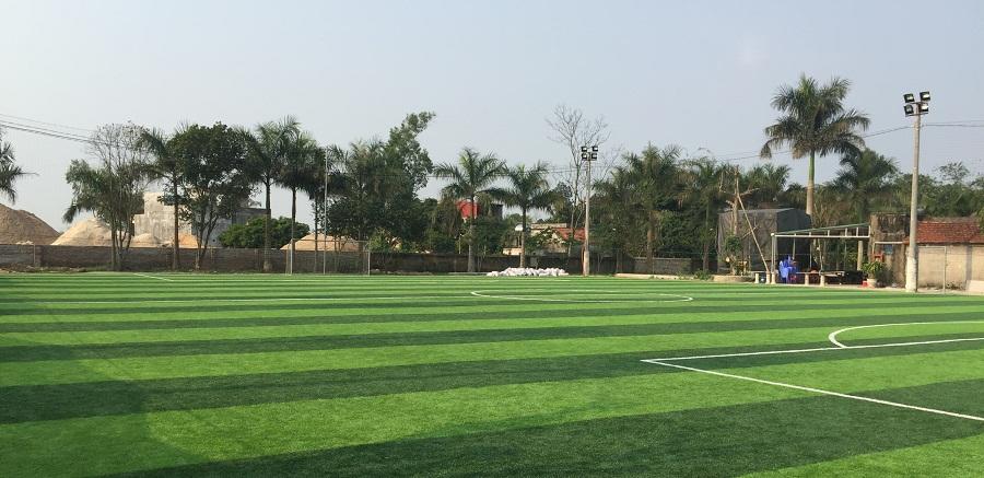 Sân bóng cỏ nhân tạo ở Quảng Ninh