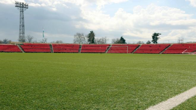 Sân vận động Republican Central nơi diễn ra trận đấu giữa Afghanistan và Việt Nam